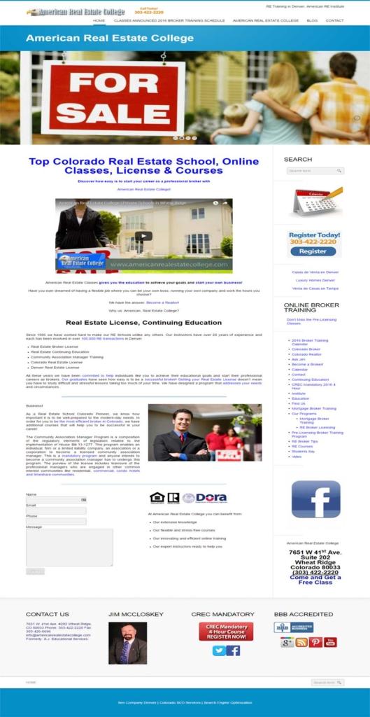 www.americanrealestatecollege.com